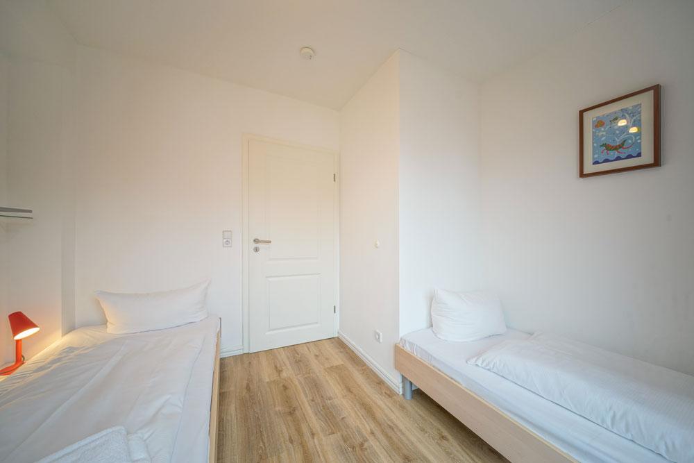 Kinder-Schlafzimmer mit 2 Einzelbetten