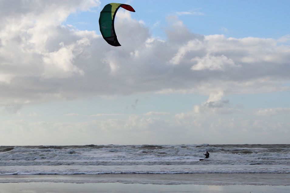 Kitesurfen an der Nordsee in Horumersiel-Schillig